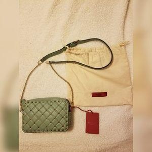 Studded crossbody purse